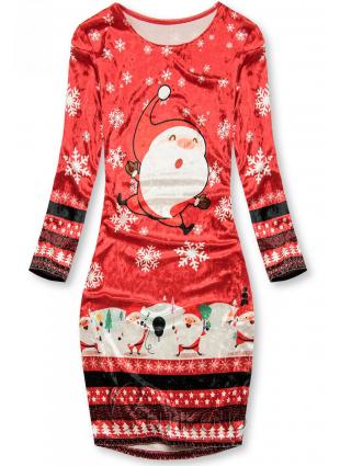 Sametové šaty SANTA