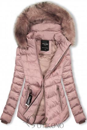 Starorůžová bunda na období podzim/zima