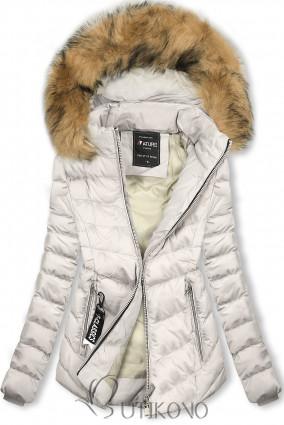 Bílá bunda na období podzim/zima