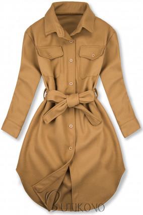 Hnědý lehký plášť